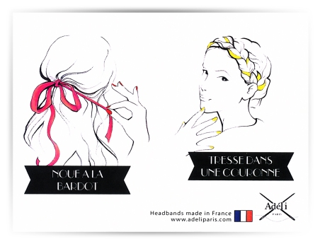 illustration indy artwork arts drawing sketch book fashion mode paris france hair fashionhair coiffure coiffe headband nail adéli nailmatic