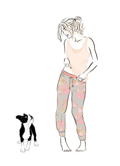 paris france artist arts passionata lingerie salon international de la lingerie 2016 paris fashion week indy artwork drawing illustration sketch book sketchbook digitalart digital paint pastel mode chine dog ziggy cocooning